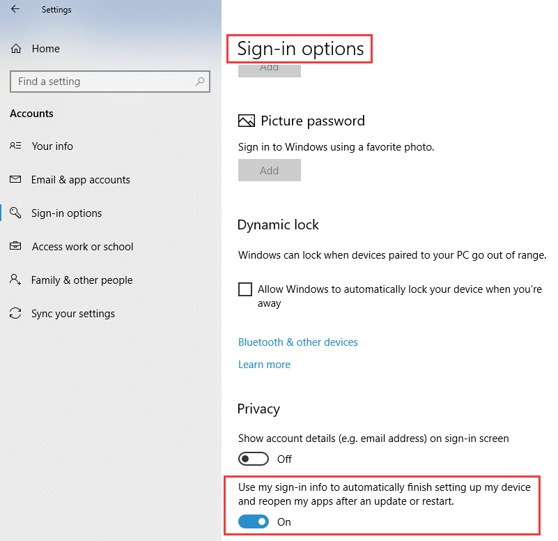 How To Stop Windows 10 From Auto Reopening Applications After Restart