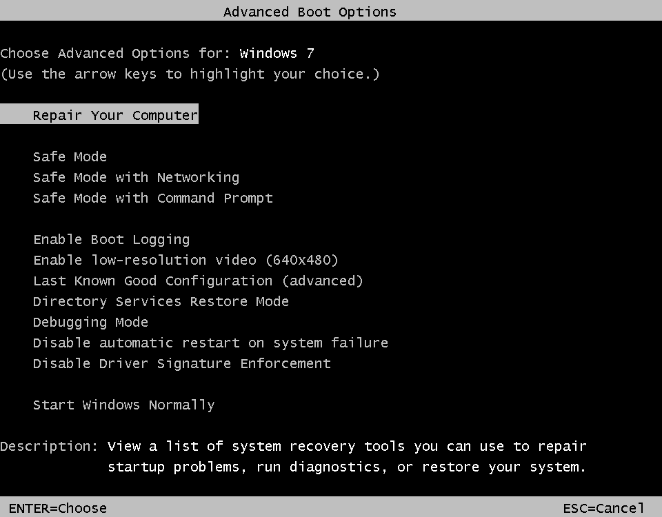 3 Ways to Start Windows 7 in Safe Mode img3