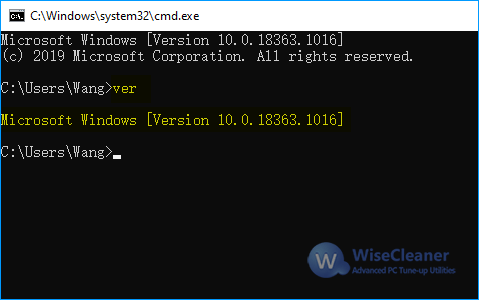 the Version of Windows 10